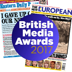 British Media Awards 2017 - Newsletter